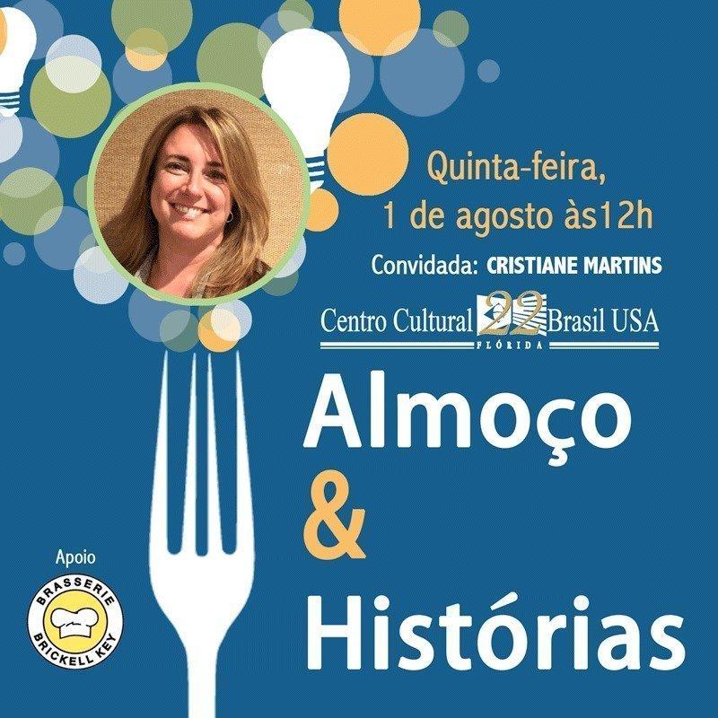 Almoço & Histórias com Cristiane Martins